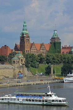 Szczecin, Poland Danzig, The Beautiful Country, Beautiful Places, Poland Cities, Travel Around The World, Around The Worlds, Heart Of Europe, Voyage Europe, Baltic Sea