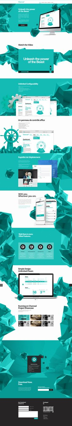 Charcoal CMS by Christian & Allegra Poschmann, via Behance | #webdesign #it #web #design #layout #userinterface #website #webdesign < repinned by www.BlickeDeeler.de | Take a look at www.WebsiteDesign-Hamburg.de