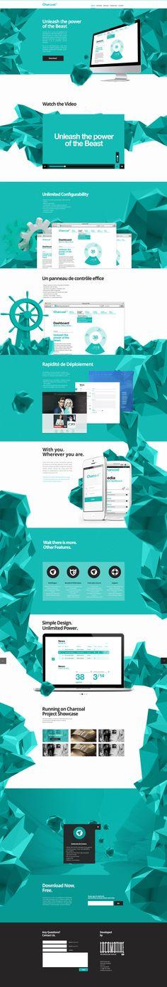 Charcoal CMS by Christian & Allegra Poschmann, via Behance | #webdesign #it #web #design #layout #userinterface #website #webdesign < repinned by www.BlickeDeeler.de | Take a look at www.WebsiteDesign-Hamburg.de