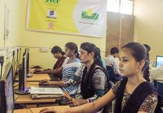 More than 100 young girls and boys are arming themselves with e-learning skills to give shape to their dreams at JSSW centre under Smile Twin e-Learning Programme in Azadpur, New Delhi. Read more: Skills To Learn, Learning Skills, Smile Foundation, Youth Employment, These Girls, Charity, Twitter, Centre, Twin