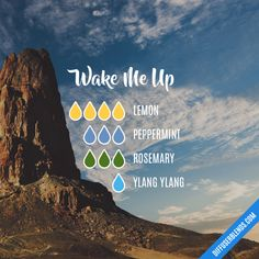 Wake Me Up - Essential Oil Diffuser Blend #Essentialoildiffusers
