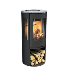 View our range of freestanding wood burning stoves and fireplaces online. Energy efficient wood burning stove manufacturers in Europe. Fireplace Surround Kit, Stone Veneer Fireplace, Natural Gas Fireplace, Home Fireplace, Fireplace Surrounds, Fireplace Design, Fireplaces, Fireplace Ideas, Stained Glass Fireplace Screen
