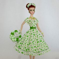 OOAK Handmade Vintage Barbie/Silkstone Fashion by Roxy- LUCKY CHARM -11pcs