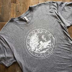 This comfy t-shirt features our signature Magnolia seal. It's soft, casual and fits true-to-size.