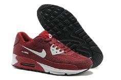 Good Best Wmns Air Max Lunar 90 Running Shoes for Women White Wine Red at Lowest Price