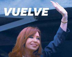 #VUELVECFK: MULTITUDINARIO RECIBIMIENTO DE LA MILITANCIA EN AEROPARQUE    Vuelve Cristina y cientos de militantes la reciben en Aeroparque Cristina Kirchner llega a la ciudad de Buenos Aires por segunda vez después de terminar su mandato. Reservas sobre la agenda de la ex mandataria en la capital.  #VuelveCFK PARA LOS Q DICEN Q EL KIRCHNERISMO SE TERMINÓ! @diegobranca @ischargro @VHMok @ischargro @pichumolinari http://pic.twitter.com/kXvqroFCXc   nada de nada (@milemaes1976) 3 de julio de…