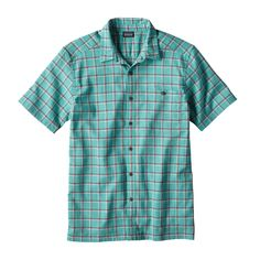 Patagonia Men's A/C® Shirt - Adrift: Galah Green