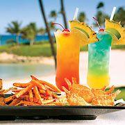 Food at Marriott's Ko Olina Beach Club