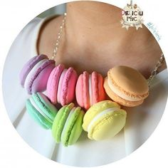 This macarons necklace will make you rock any event you attend  . #makeastatement #wear this #macaronsnecklace #handamde #polymerclay #ilovehabdmade #macaron #macarons #ilovemacarons #cute #rainbow #rainbowmacarons #instafun #coliermacarons #pinkmacaron #mintmacaron #craft #DeliciumMic @cukibags @anatudoraa - http://ift.tt/1ipRjKg -