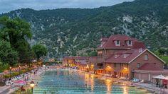 Colorados Historic Hot Springs Loop lädt zum Entspannen ein