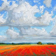 Poppies in the sun H w dixon                              …