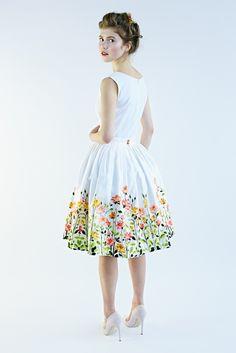Rose Garden Skirt - So lovely!