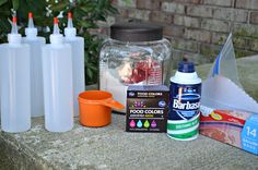 3 Ingredient DIY Puffy Sidewalk Paint - Hip2Save
