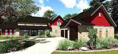 Handsome Hill Country House Plan - 35910WY | Hill Country, 1st Floor Master Suite, Butler Walk-in Pantry, CAD Available, Den-Office-Library-Study, Media-Game-Home Theater, PDF, Split Bedrooms | Architectural Designs
