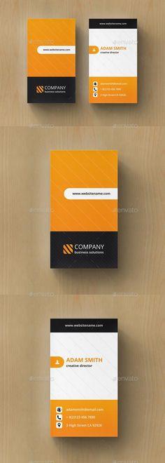 Creative Business Card  #template #creative #business