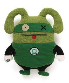 Look at this GUND Uglydoll Green Lantern Plush on #zulily today!