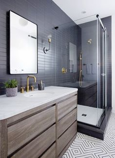 WHERE TO BUY CEMENT TILES + OUR FAVORITES. Masculine BathroomDesign ...