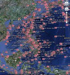 これは日本海軍の艦船が 撃沈された場所を示す地図 こんな犠牲を予想しながら 何故日本が戦争に至ったか それは 侵略の為ではなく 侵略される寸前の 自衛の為の戦争だったから 亡くなった300万人の為に 歴史教育の嘘をひっくり返そう pic.twitter.com/gvjGVgFQU5