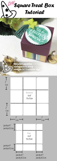 Treat box tutotiral by Natalie Lapakko with Eastern Beauty stamps and Naturally Eclectic DSP from Stampin' Up!