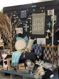 Kids room decor, home decor visual merchandising, shop display at Lavish Abode in Lilydale Vic.