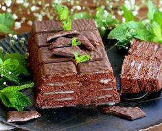 Tarta de chocolate y after eight