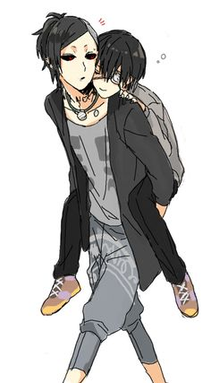 Cute Uta and Kaneki fan art