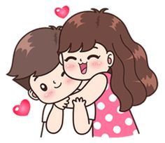 This love for you, send your love to your couple. It's so cute >. Cute Love Pictures, Cute Cartoon Pictures, Cute Love Gif, Funny Pics, Love Cartoon Couple, Chibi Couple, Cute Couple Drawings, Cute Drawings, Mode Poster