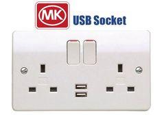 MK Electric USB Sockets