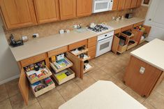 Make The Most Of Your Kitchen Storage - Install Kitchen Pull Out Shelves