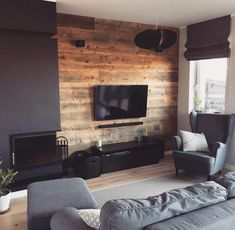 Living Room Setup, Interior Design Living Room, Living Room Designs, Small Space Interior Design, Home Room Design, Home Office Setup, Apartment Design, House Rooms, Home And Living
