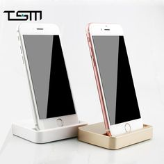 Tsm original portable desktop data sync usb cradle dock charger charging station for iphone 5 5s 5c 6s plus | worth buying on AliExpress
