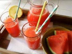 Limonade à la pastèque { plate ou pétillante } • Hellocoton.fr