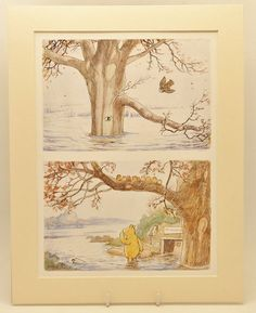 Vintage & Classic Winnie the Pooh baby room decor by SkitterCats, $15.00