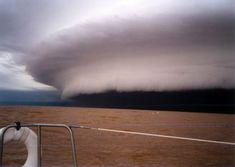 "Dark Roasted Blend: ""Tsunami in the Sky"" Storm Cloud"