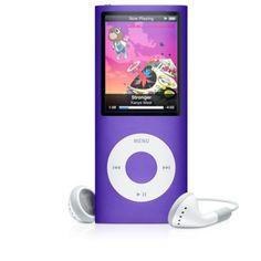 Apple iPod Nano 8 GB Purple - Coolblue - Voor morgen in huis Electronics Gadgets, Electronics Accessories, Phone Gadgets, Ipod Nano, All Things Purple, Purple Stuff, Red Hats, Purple Rain, Apple Products