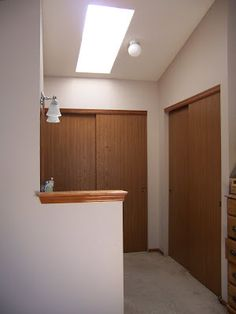 Closet door makeover #diy #closet #paint