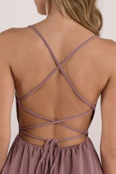 We know you like your skater dresses with a serving of sass. The Wine Sonya Strappy Skater Dress is a sexy fit and flare dress with a sweetheart neckl Backless Homecoming Dresses, Simple Homecoming Dresses, Hoco Dresses, Dance Dresses, Simple Dresses, Tight Dresses, Pretty Dresses, Open Back Dresses, Shift Dresses