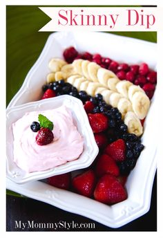 Skinny dip, and an Easter recap. So delish! And super healthy. ~MyMommyStyle.com #fruitdip #healthy #diet