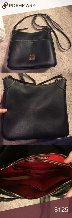 Dooney and Bourke Kimberly Dooney and Bourke Kimberly in Black Saffiano Leather. Used but in excellent condition  Dooney & Bourke Bags Crossbody Bags