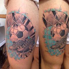 Resultado de imagen de tatuaje red de futbol
