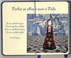O Blog da Tita: Já faz parte de mim, este fado.#collage ; #colagem