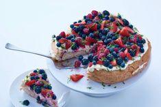 ontbijttaart met fruit