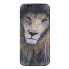 Lion's Gaze iPhone 5 Cover