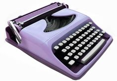 Purple Typewriter ... just when I think I have all the colors!