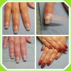 Fibergl Nails By Regina Sanchez Using Backscratchers Systems At The Studio Silk Wrap