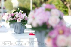 Pink wedding. Wedding by Monte-Carlo Weddings