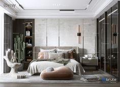 Bedroom Designs, Bedroom Ideas, Bedroom Decor, Interior Design Presentation, Bed Rooms, Hotel Suites, Kid Beds, Condo, House Design