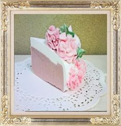 Cake soap - this is just beautiful!
