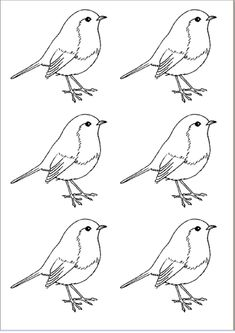 chickadee paintings - Nice sketch to make applique quilt. Ink Pen Drawings, Bird Drawings, Bird Nest Craft, Bird Template, Bird Stencil, Fall Art Projects, Farm Crafts, Happy Paintings, Vintage Birds