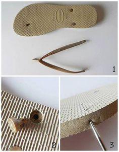 ¿Dónde conseguir suelas para zapatos tejidos?